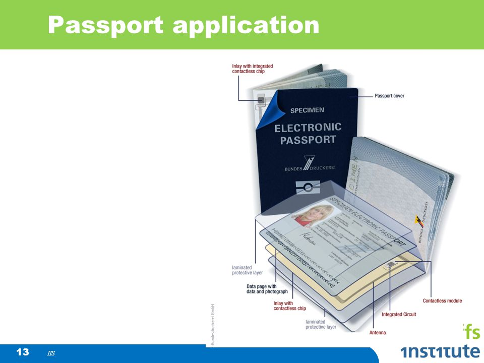Passport application IIS