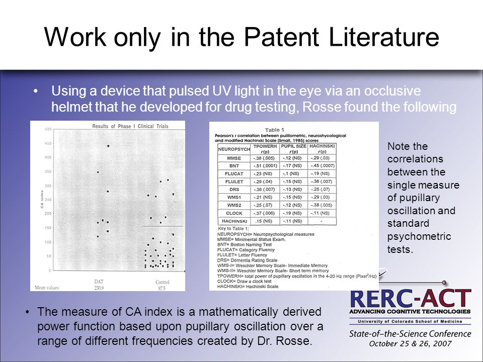 Work only in the Patent Literature