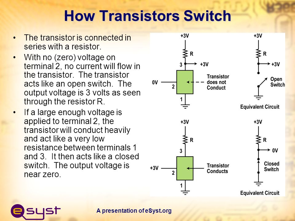 How Transistors Switch