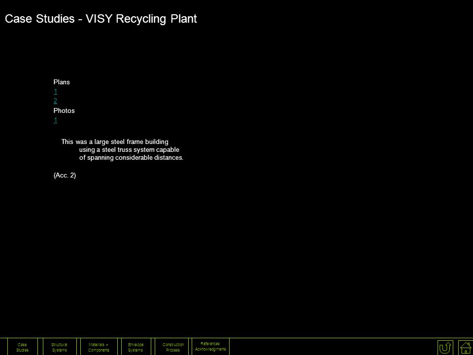 Case Studies - VISY Recycling Plant