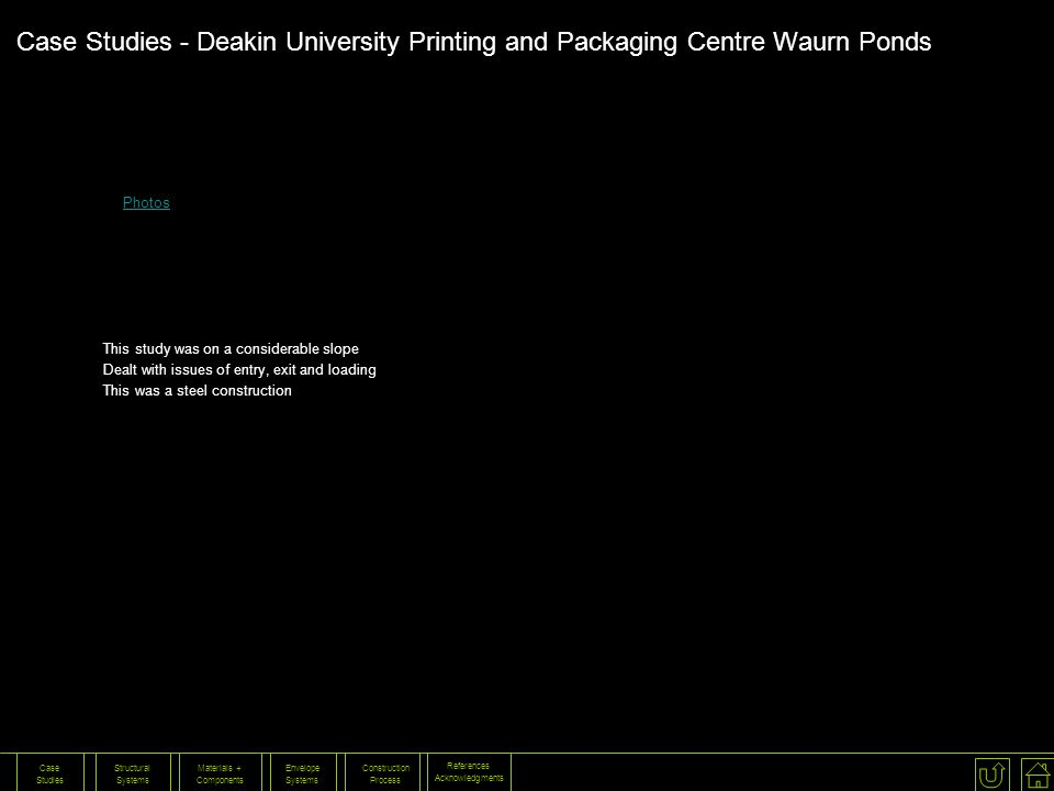 Case Studies - Deakin University Printing and Packaging Centre Waurn Ponds