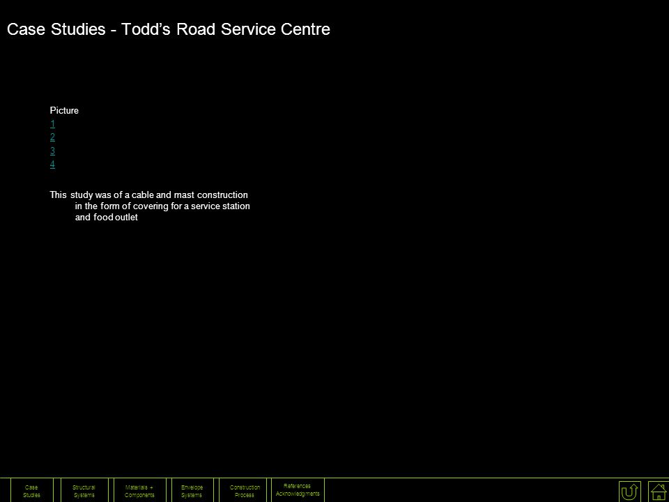 Case Studies - Todd's Road Service Centre