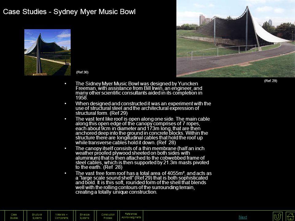 Case Studies - Sydney Myer Music Bowl