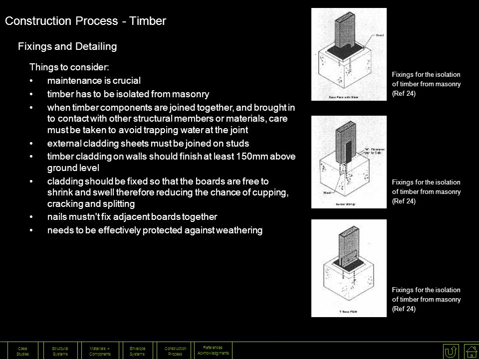 Construction Process - Timber