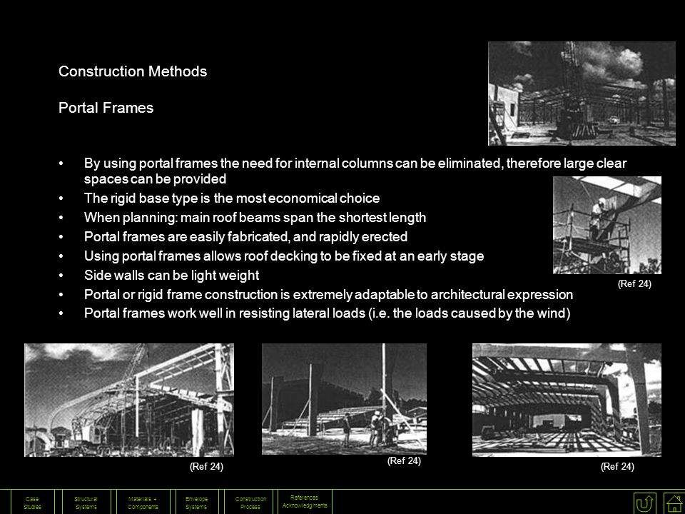Construction Methods Portal Frames