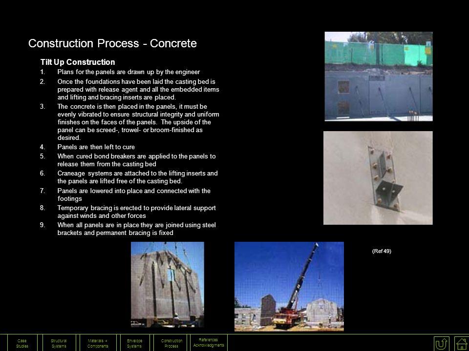 Construction Process - Concrete