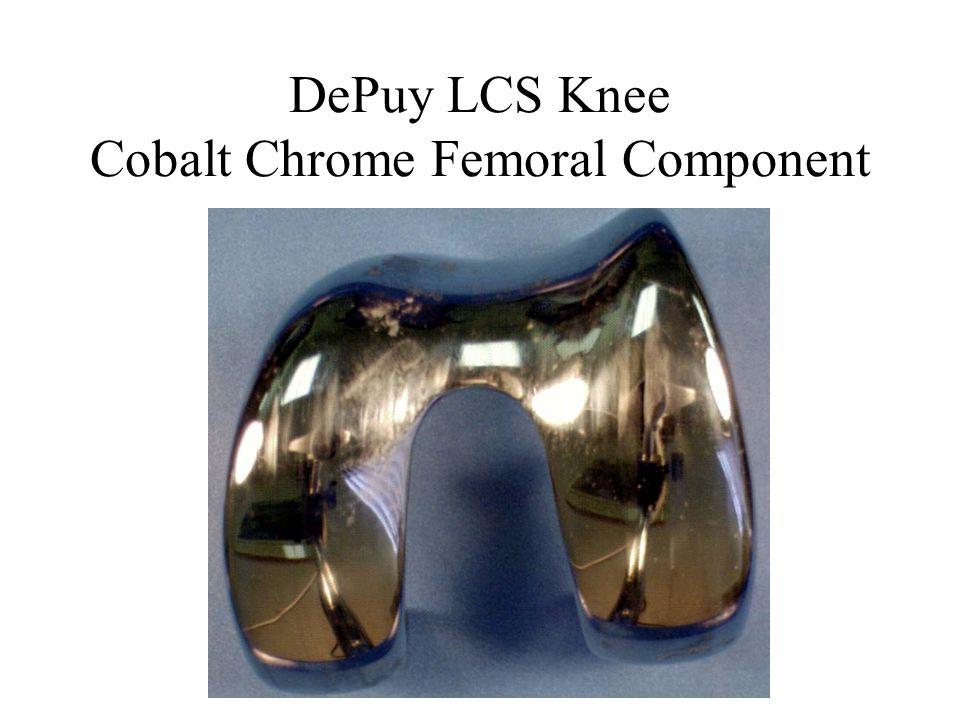 DePuy LCS Knee Cobalt Chrome Femoral Component