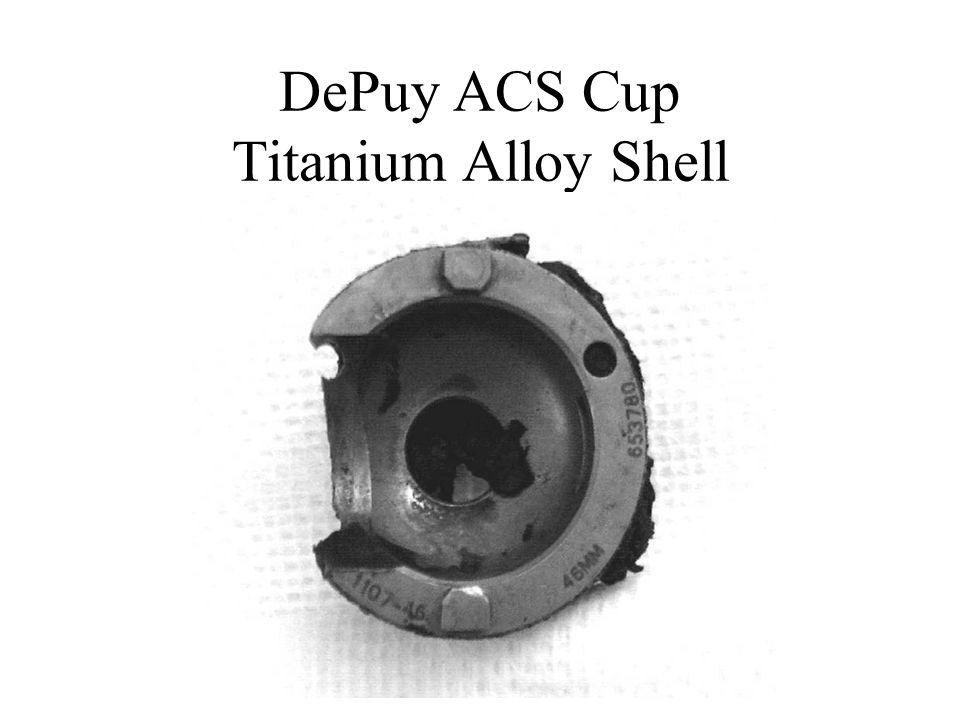 DePuy ACS Cup Titanium Alloy Shell