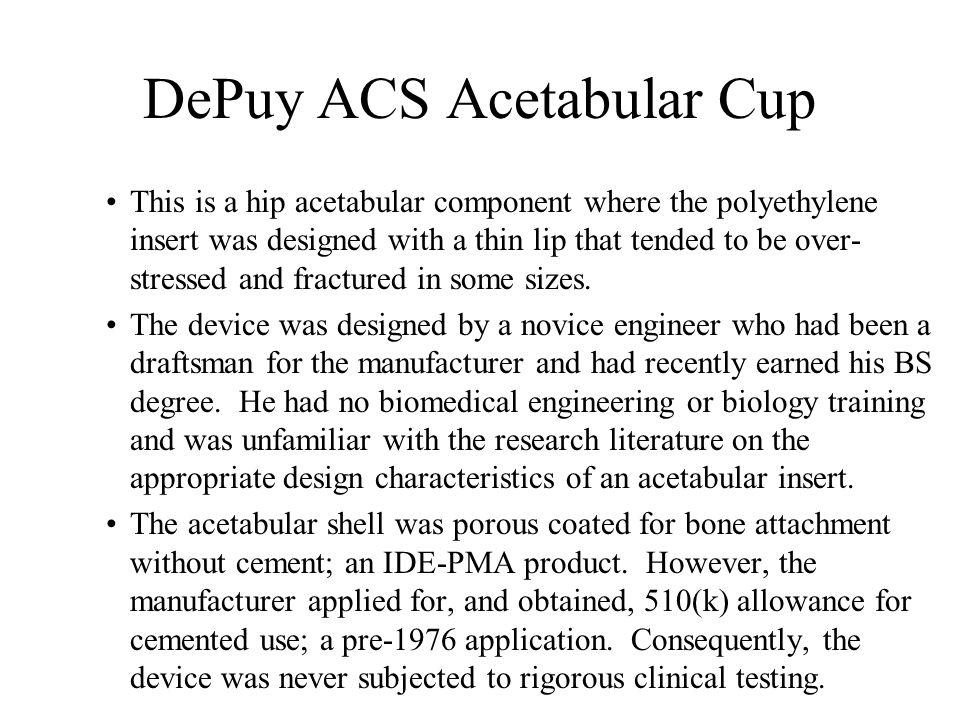 DePuy ACS Acetabular Cup