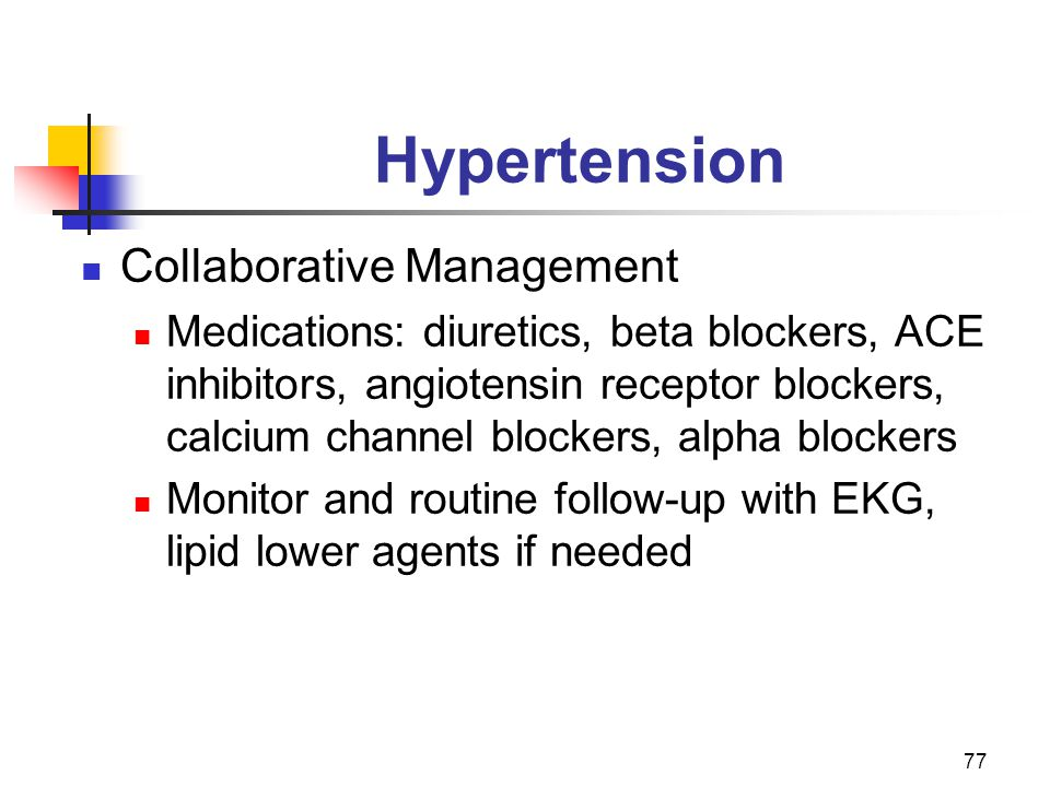 Hypertension Collaborative Management