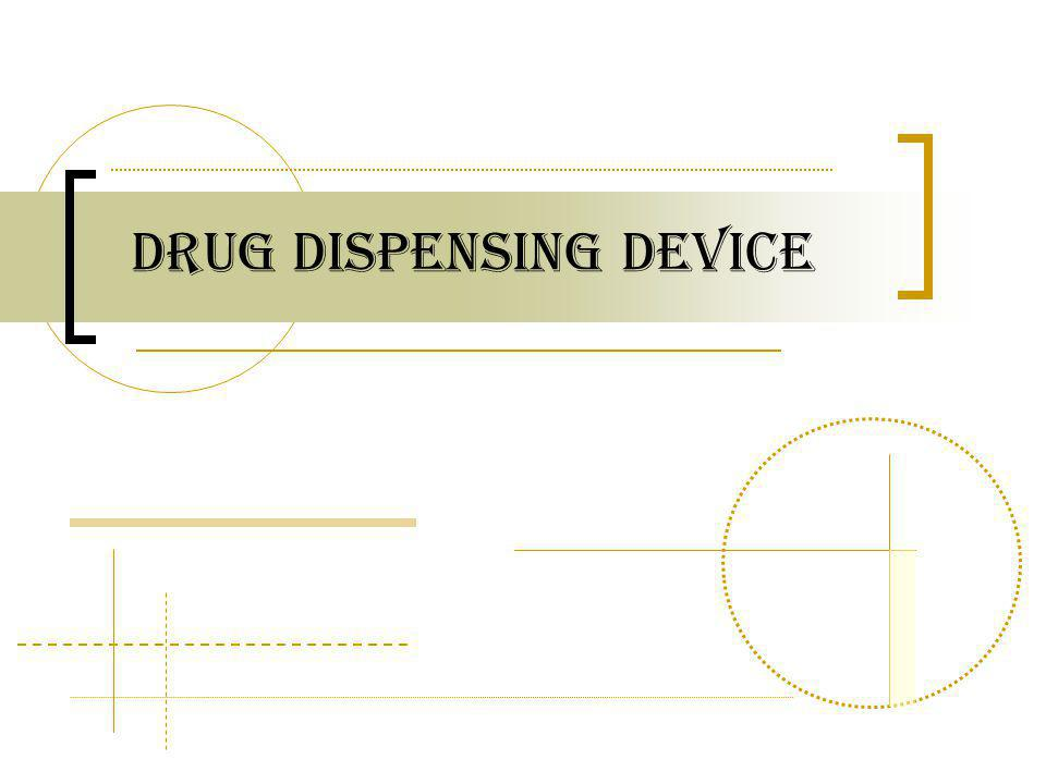 Drug dispensing device