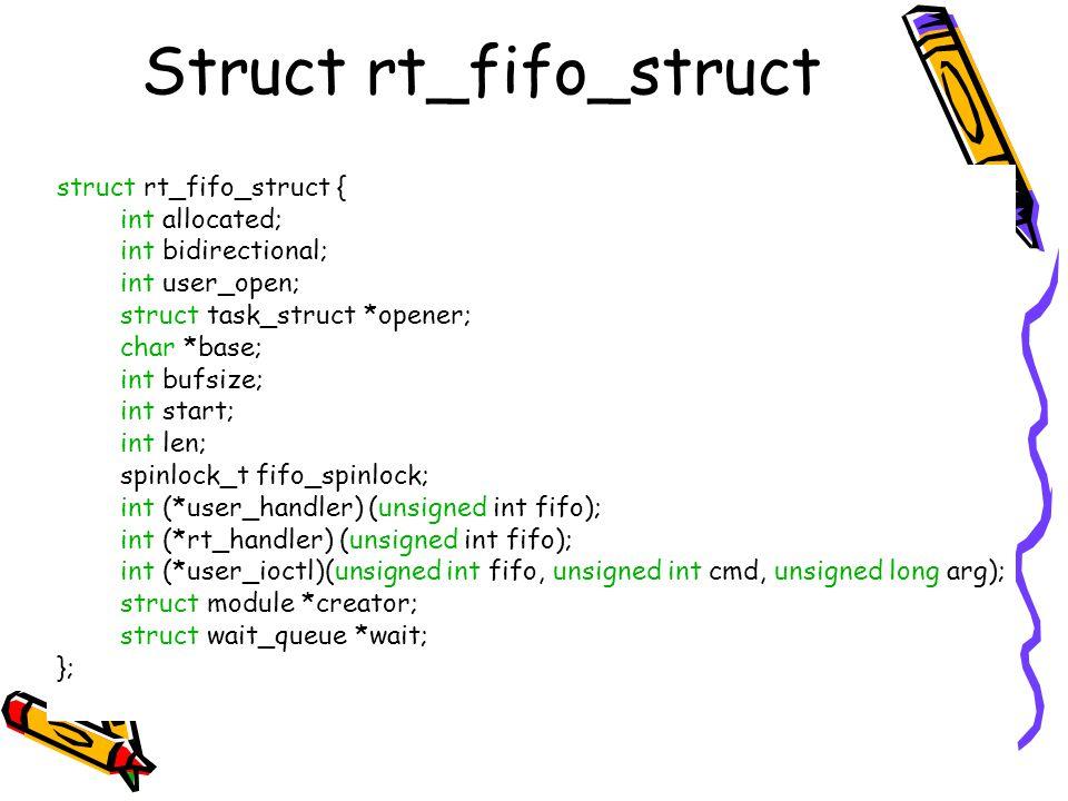 Struct rt_fifo_struct
