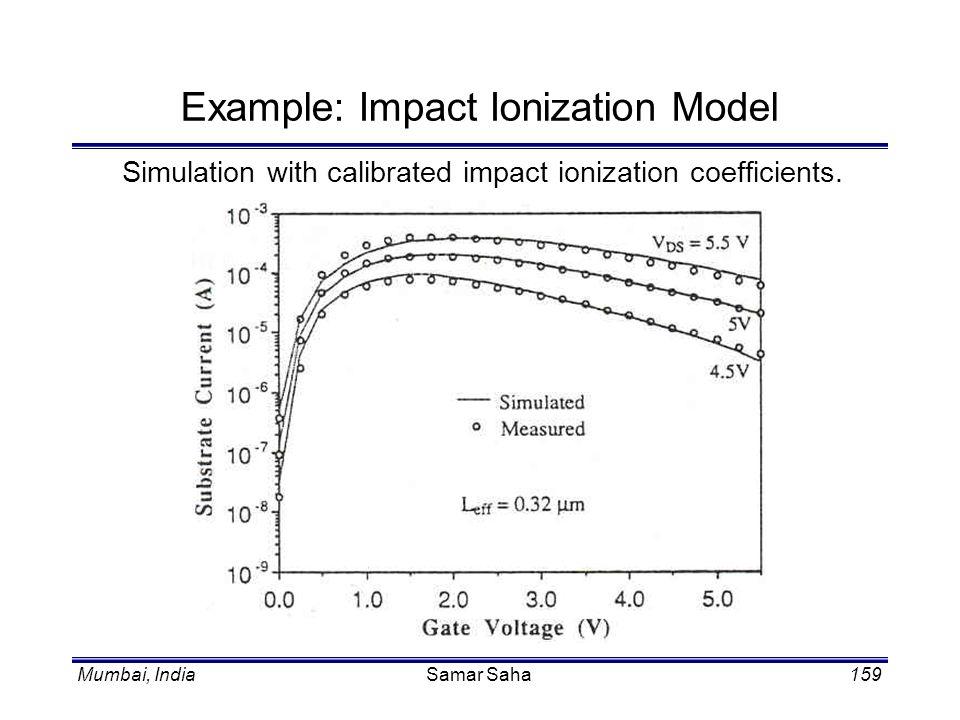Example: Impact Ionization Model