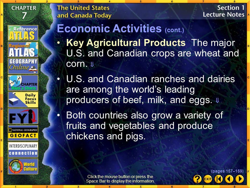 Economic Activities (cont.)