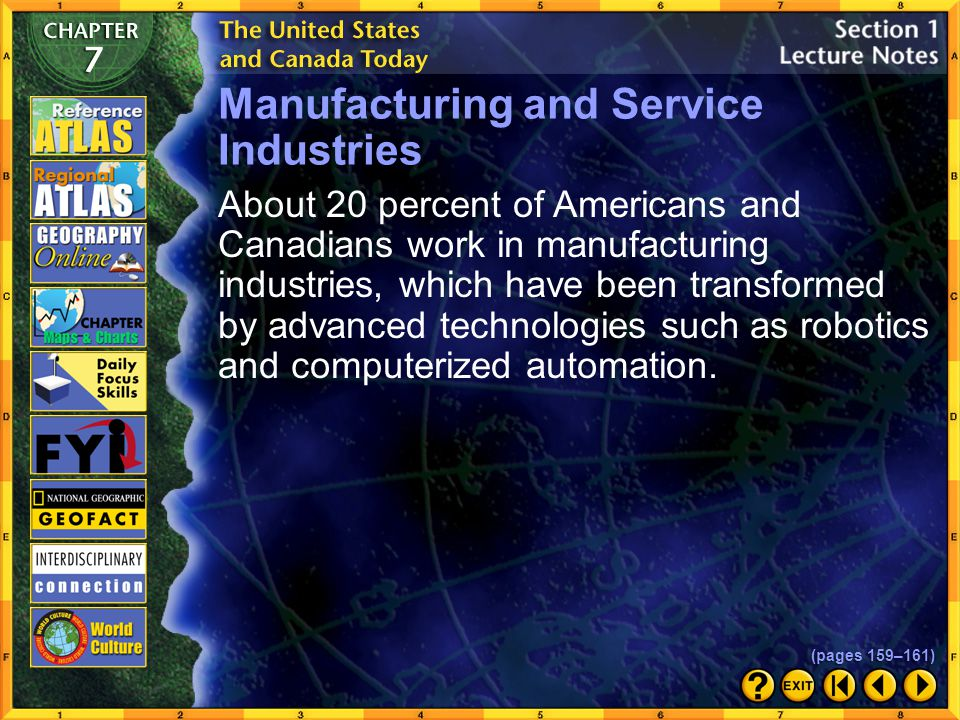 Manufacturing and Service Industries