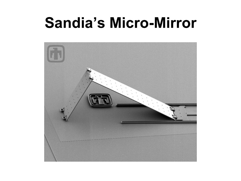 Sandia's Micro-Mirror