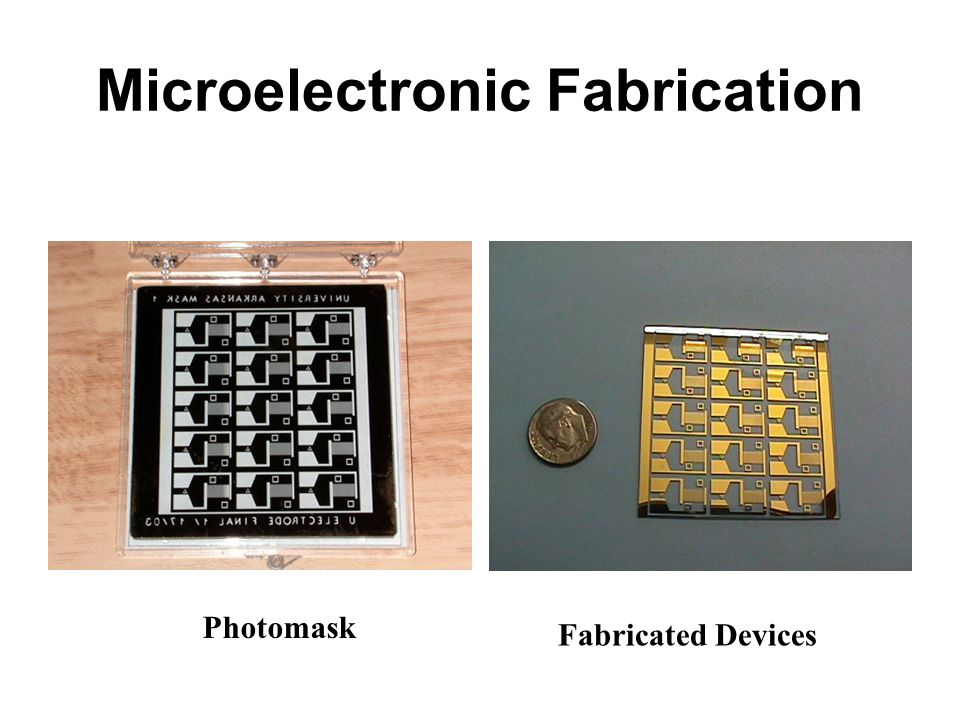 Microelectronic Fabrication