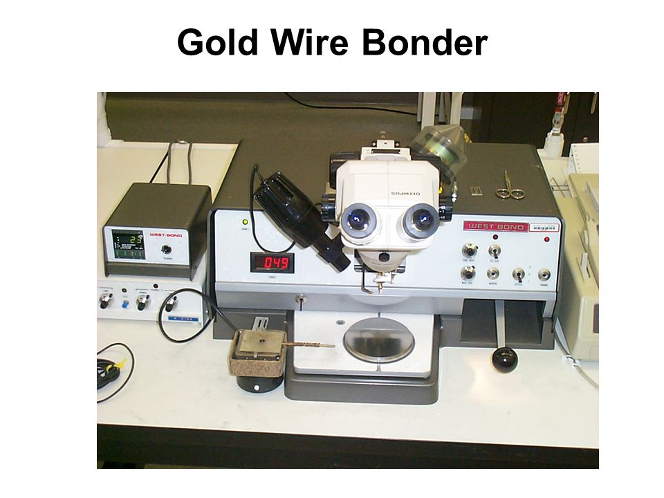 Gold Wire Bonder