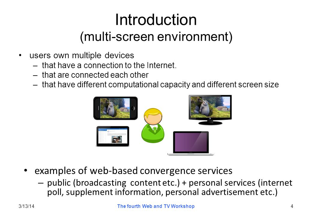 Introduction (multi-screen environment)