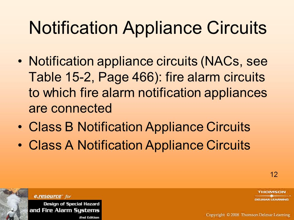 Notification Appliance Circuits