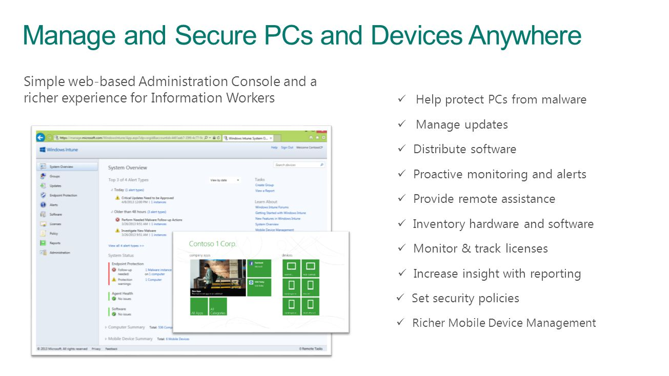 Manage and Secure PCs and Devices Anywhere