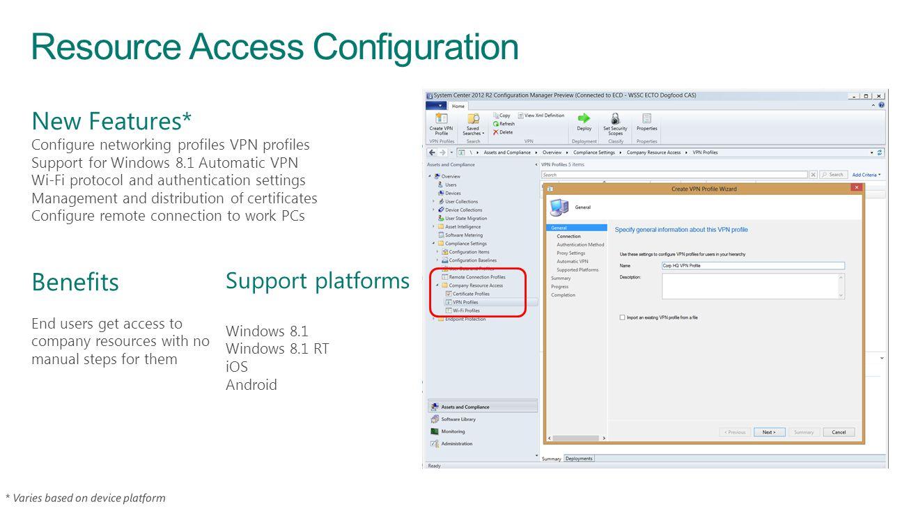 Resource Access Configuration