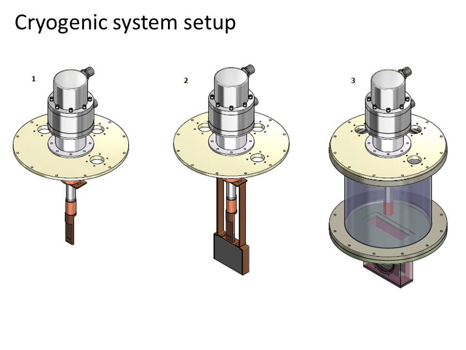 Cryogenic system setup