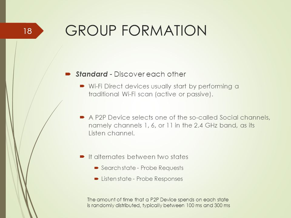 GROUP FORMATION Standard - Discover each other
