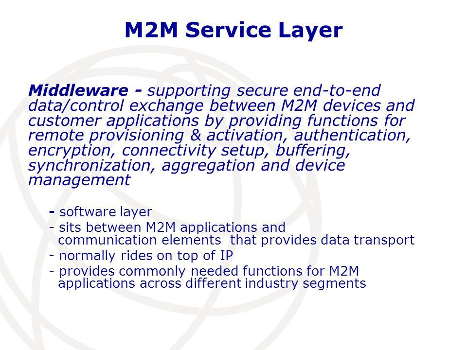 M2M Service Layer