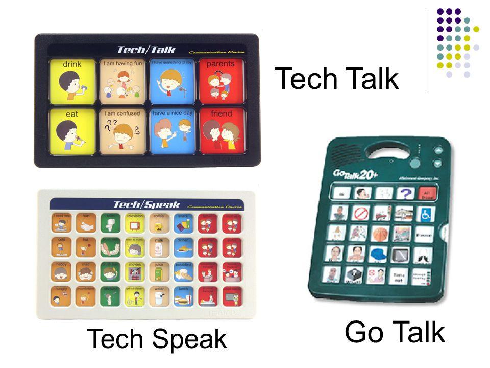 Tech Talk Go Talk Tech Speak