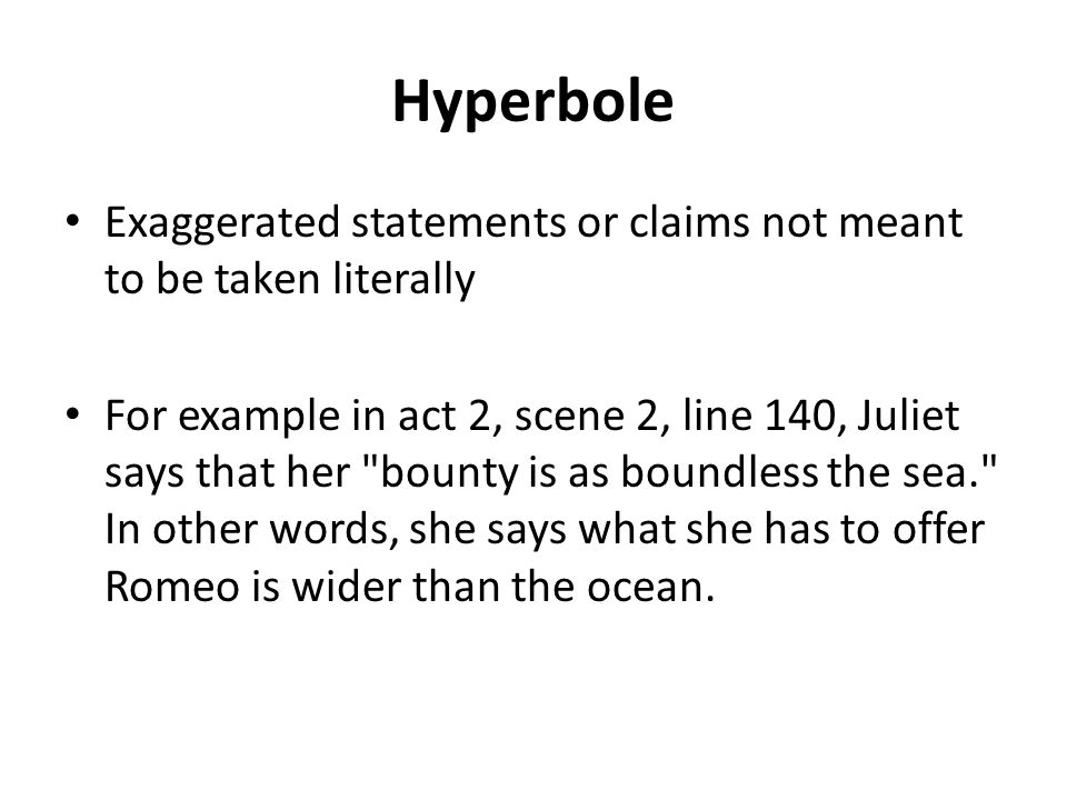 Literary Devices in Romeo and Juliet. - ppt video online ...