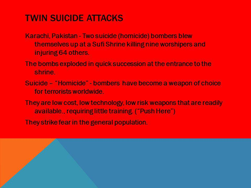 Twin Suicide AtTackS