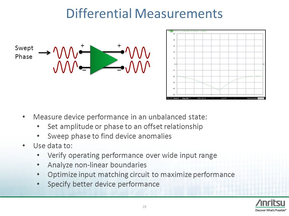 Differential Measurements