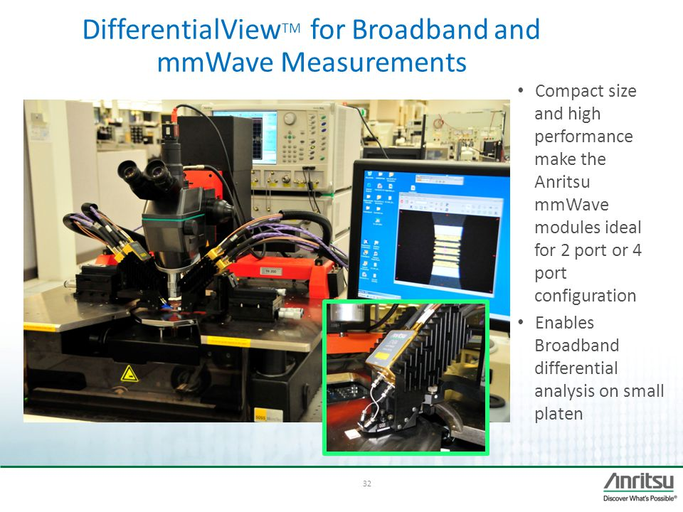 DifferentialViewTM for Broadband and mmWave Measurements