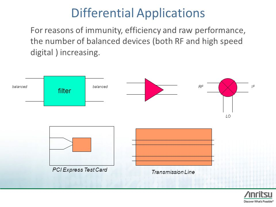 Differential Applications