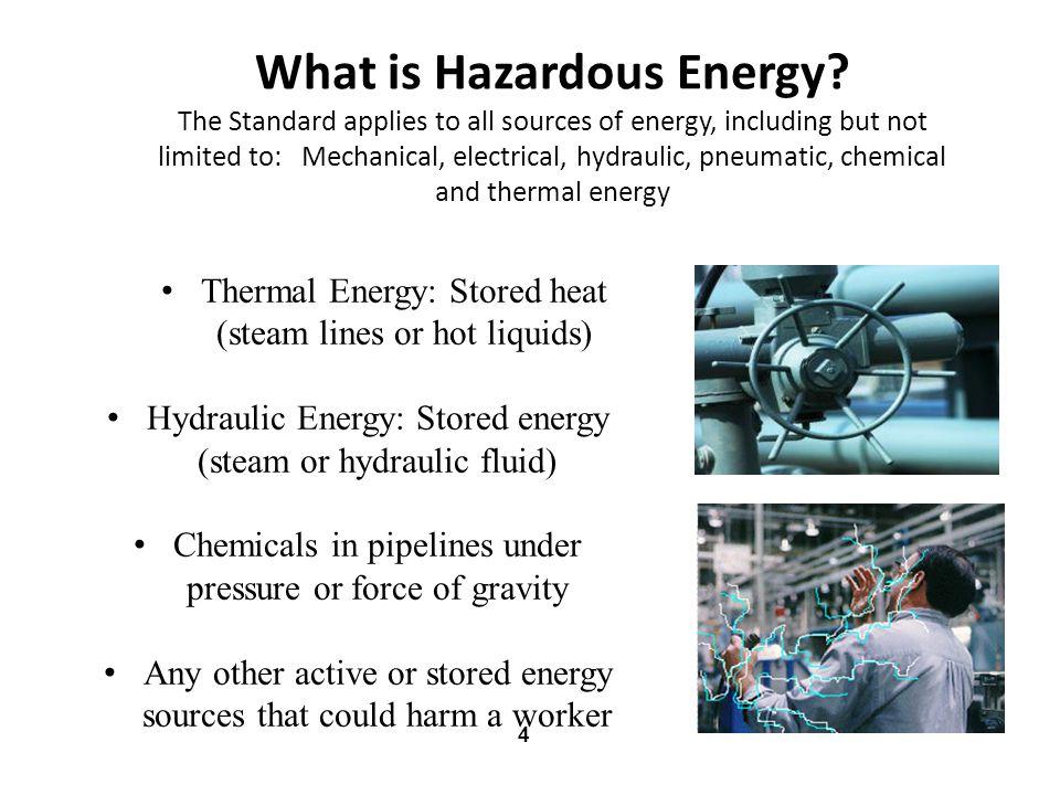 What is Hazardous Energy