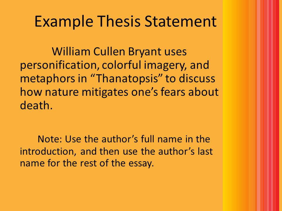 writing a poetry essay introduction