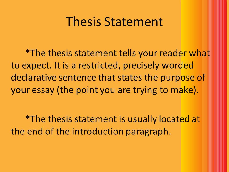 How To Write A Poem Analysis Essay  Ppt Video Online Download Thesis Statement
