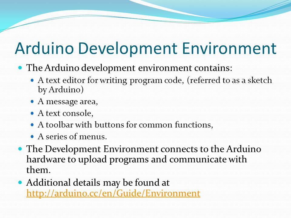Arduino Development Environment