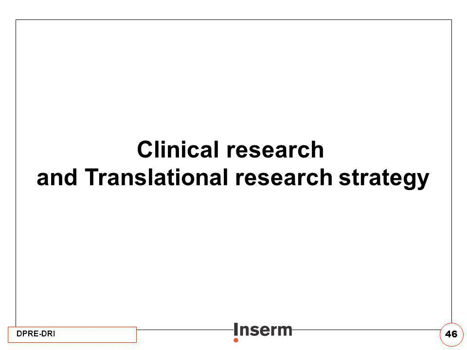 and Translational research strategy