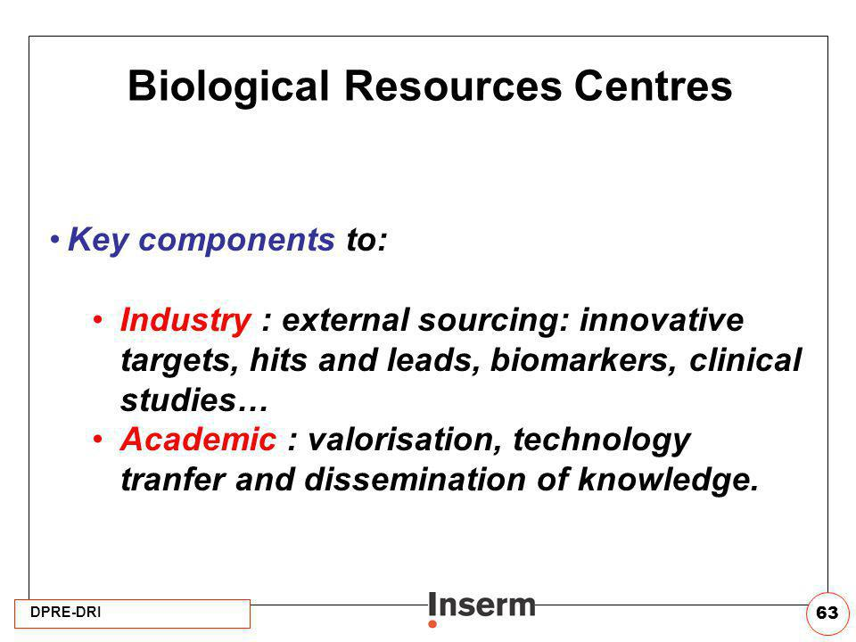 Biological Resources Centres