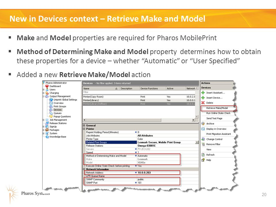 New in Devices context – Retrieve Make and Model