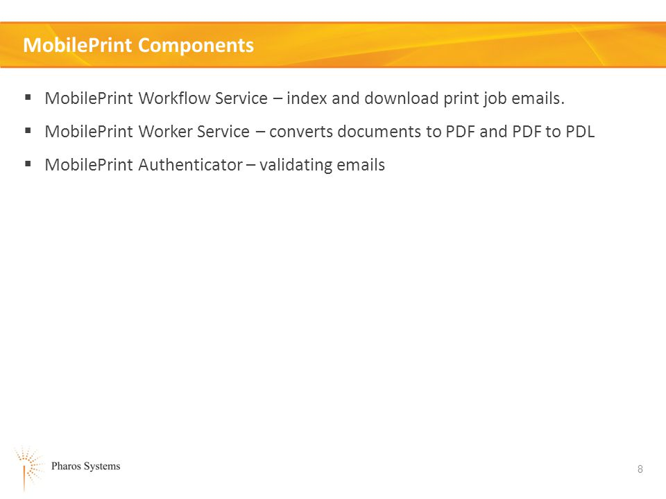 MobilePrint Components