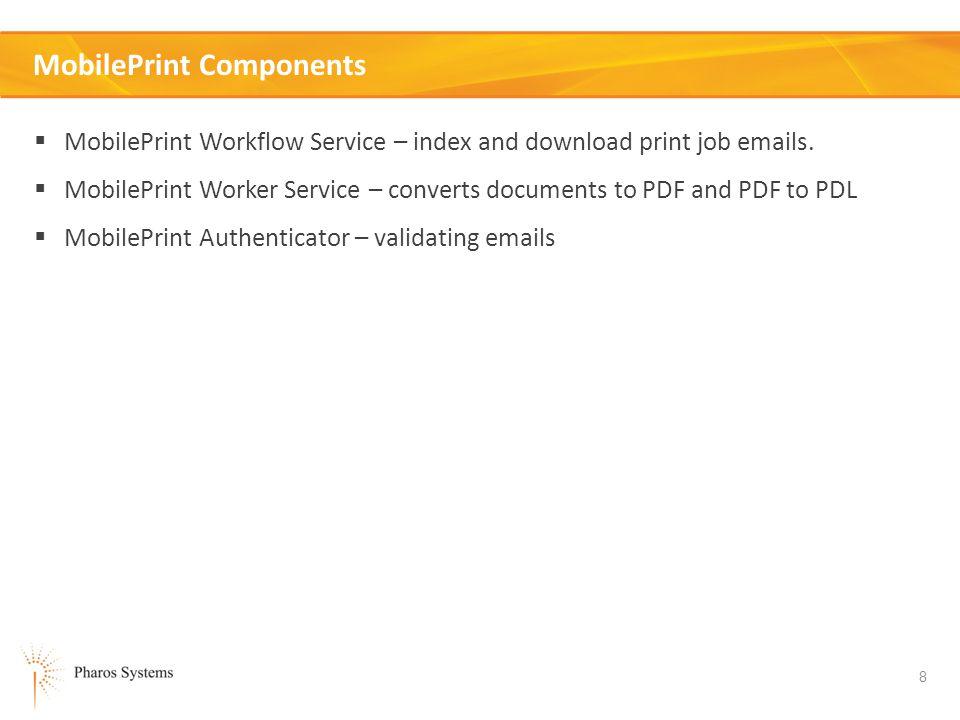 MobilePrint Components