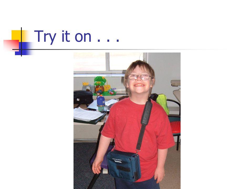 Try it on . . .