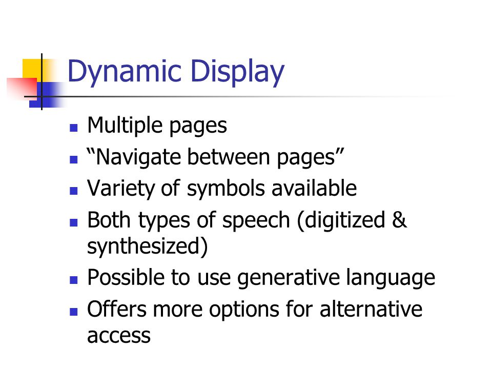 Dynamic Display Multiple pages Navigate between pages