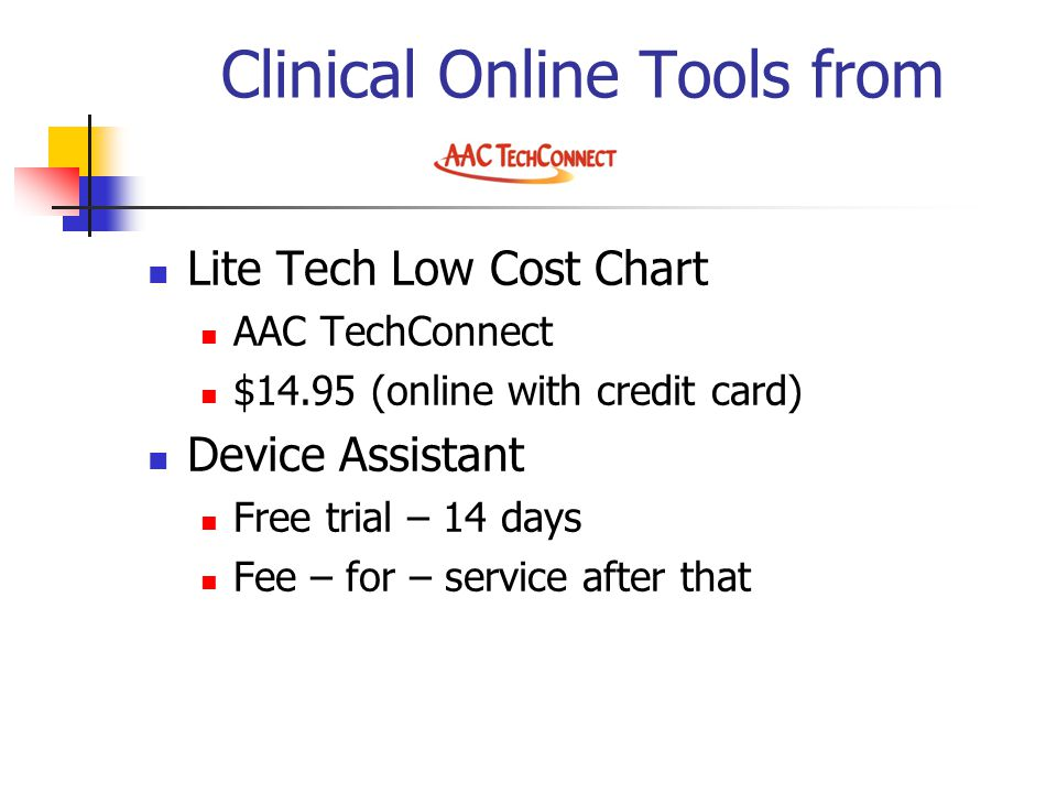 Clinical Online Tools from