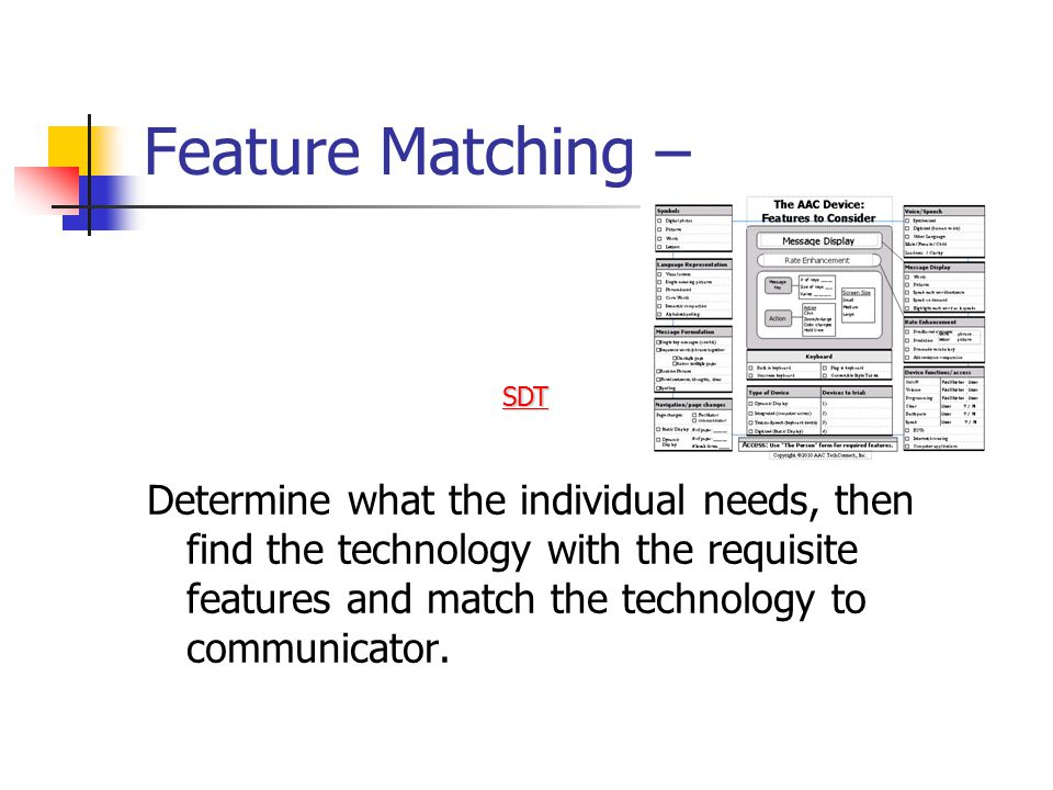 Feature Matching –