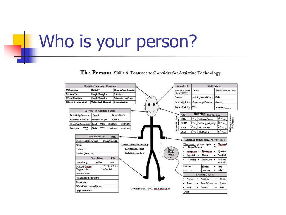 Who is your person