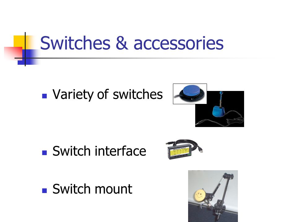 Switches & accessories